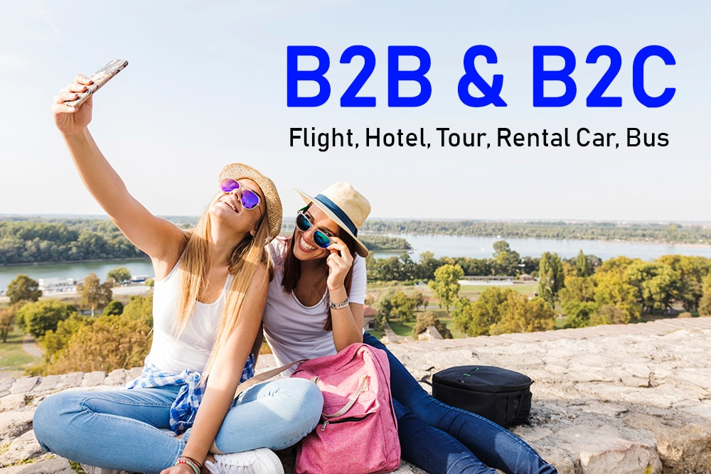 travel portal development b2b  and b2c