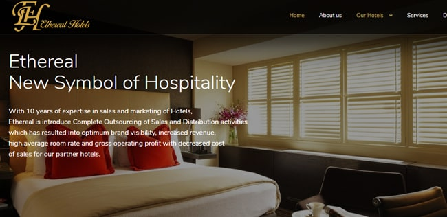 ethereal hotels